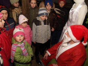 Fundacja Złotowianka-Dzieci - dzieciom. Akcja mikołajkowa 2008