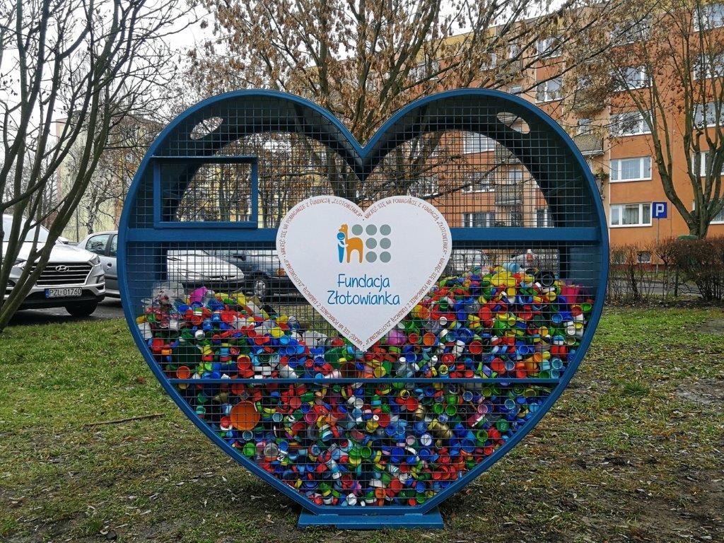 Fundacja Złotowianka- Serce nakrętki